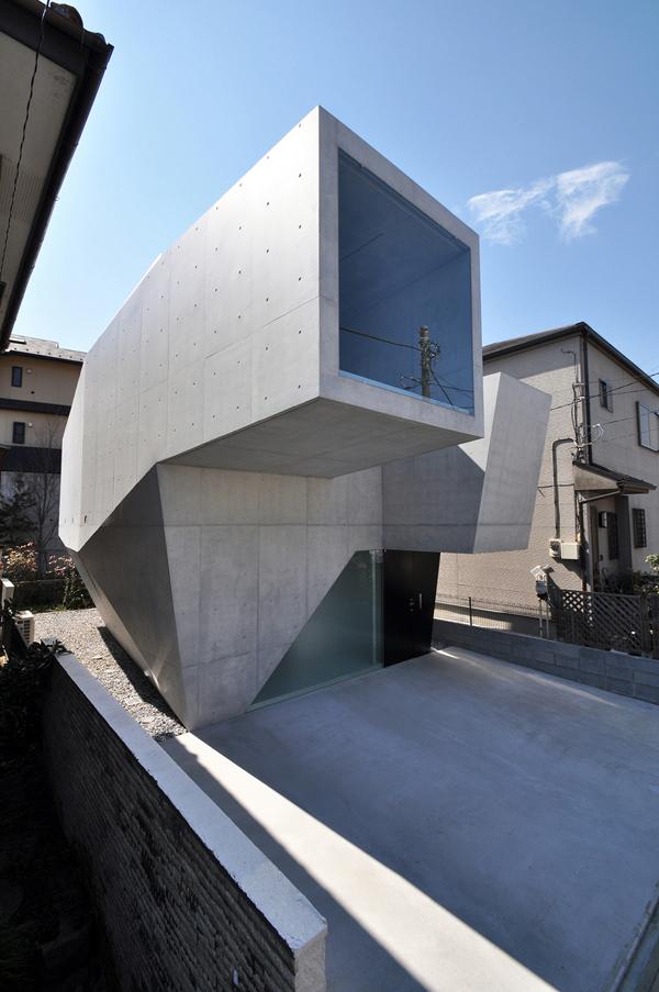 Fuse-atelier, casa unifamilar en Abiko (Japón)
