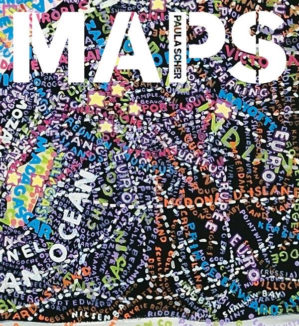 Paula Scher, el mapa y las palabras