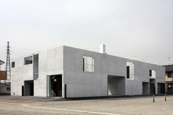 Static Quarry: apartamentos en Gunma, Japón