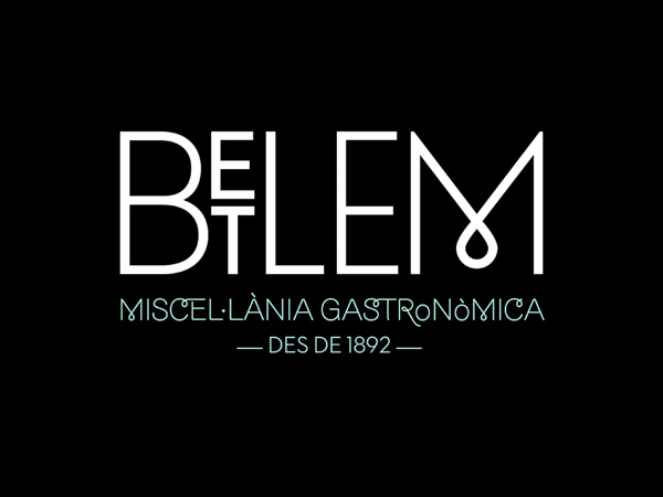 Toormix, diseño de la identidad visual del restaurante Betlem