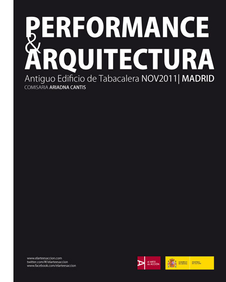 Performance & arquitectura en el antiguo edificio de Tabacalera