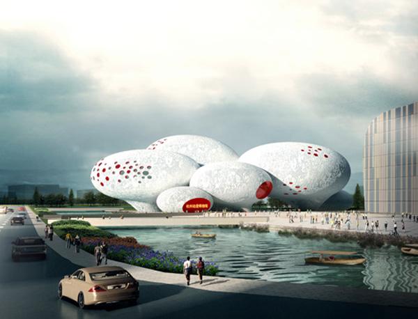 Museo del cómic y la animación en Hangzhou, de MVRDV