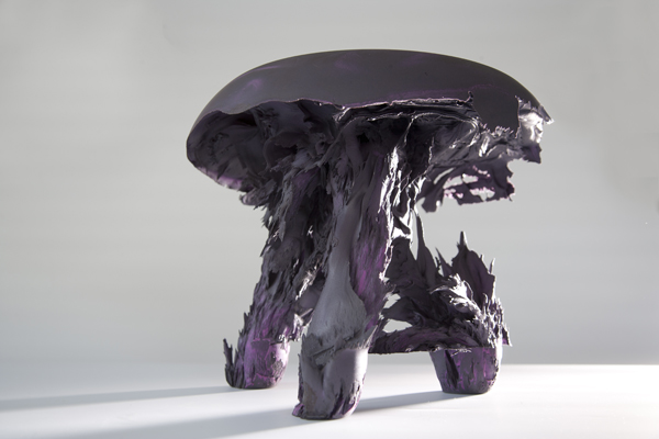 Gravity Stool, diseños magnéticos de Jólan van der Wiel