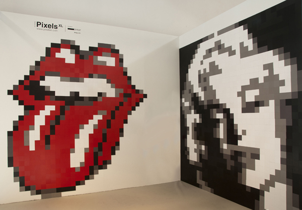 Mosaico magnético removible Pixels XL, de Cdroig