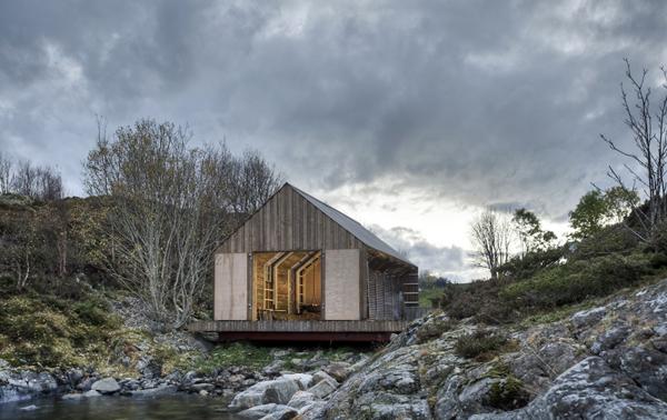 Cobertizo de verano en Aure (Noruega), de TYIN tegnestue Architects
