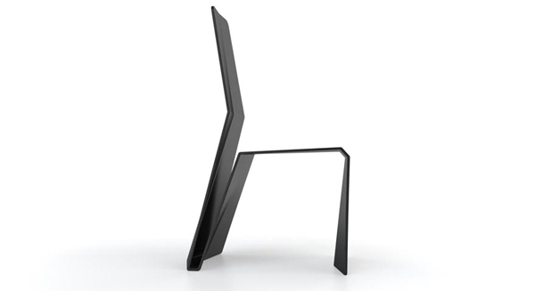 Studio Aparte diseña Katra, la silla de composite de fibras de ramio