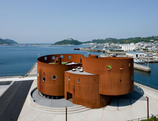 Looptecture Fukura, observatorio de tsunamis, de Endo Shuhei