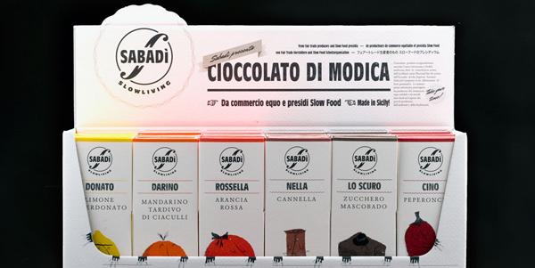 El envase es la marca: packaging de Happycentro para el chocolate Sabadì