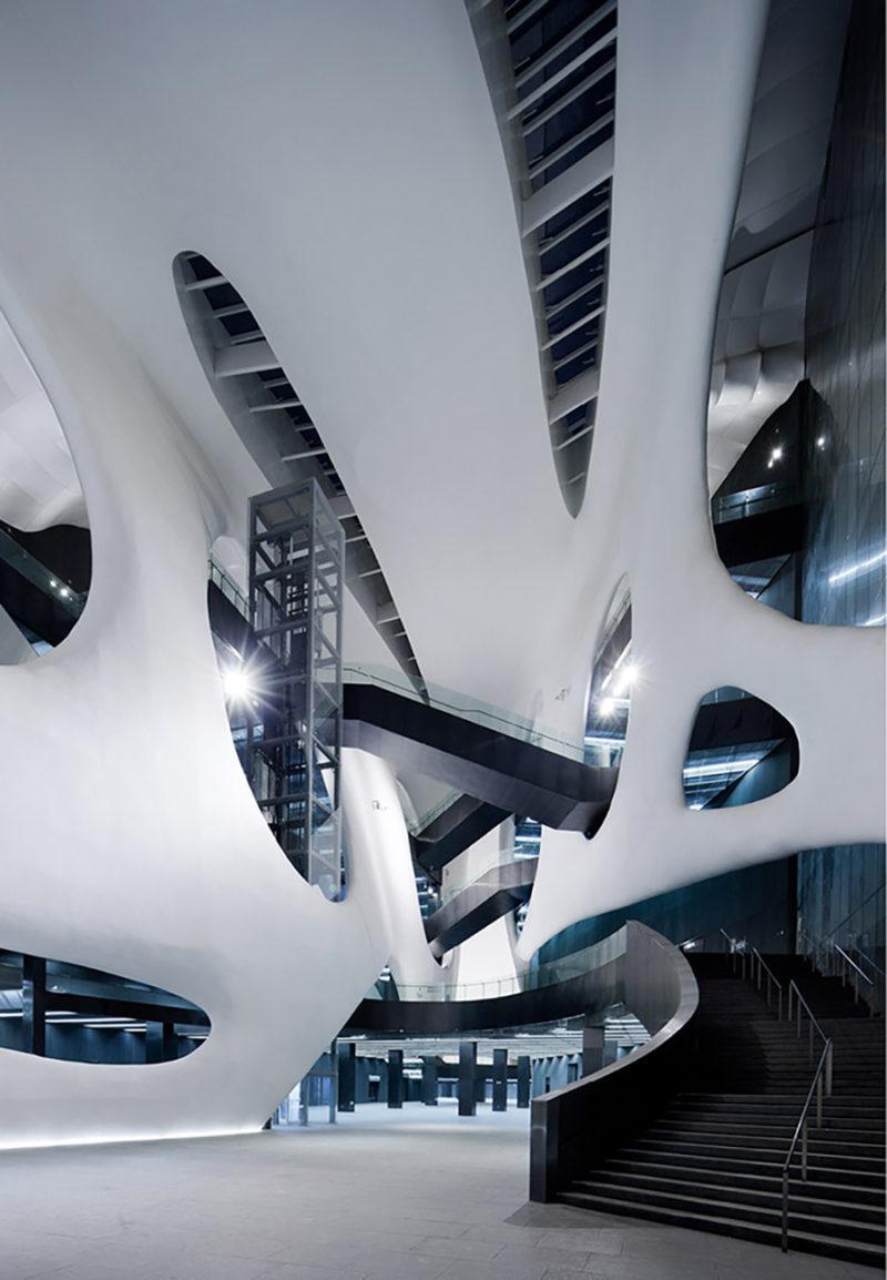 Ordos Museum, de MAD Architects. Un museo en el desierto de Gobi