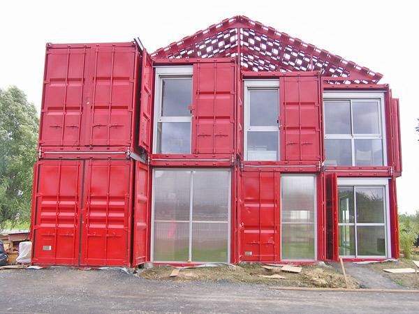 Maison Container Lille, Patrick Partouche, 2010.