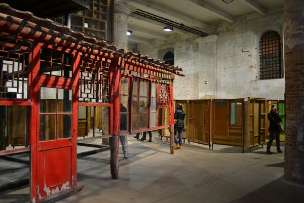 Bienal de Arte de Venecia: EL ARSENAL