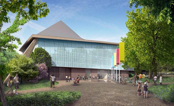 Museo del Diseño de Londres, por John Pawson y Rem Koolhaas