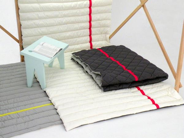 Soft Fold Cabane, habitáculo de Marie Dessuant y Margaux Keller
