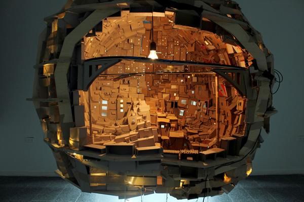 Brain/City, la ciudad-cerebro de Yaron Steinberg