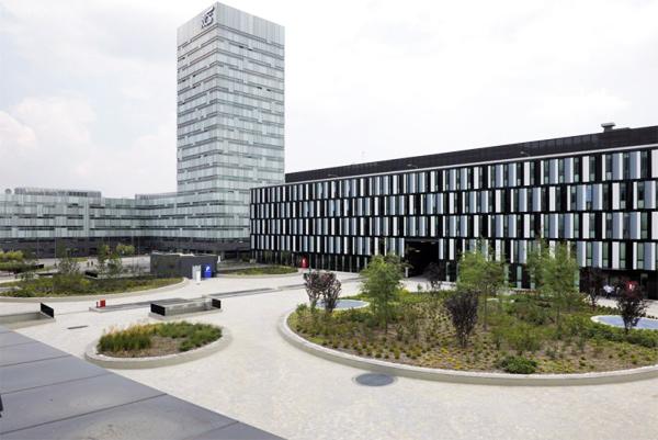 B5 Building, oficinas de Barreca & La Varra para RCS Mediagroup