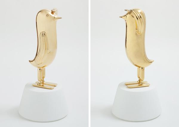 Hopebird, escultura cerámica de Jaime Hayón para Bosa
