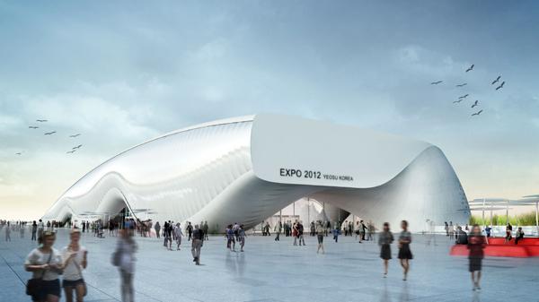 One Ocean, pabellón para Expo 2012 Yeosu de SOMA