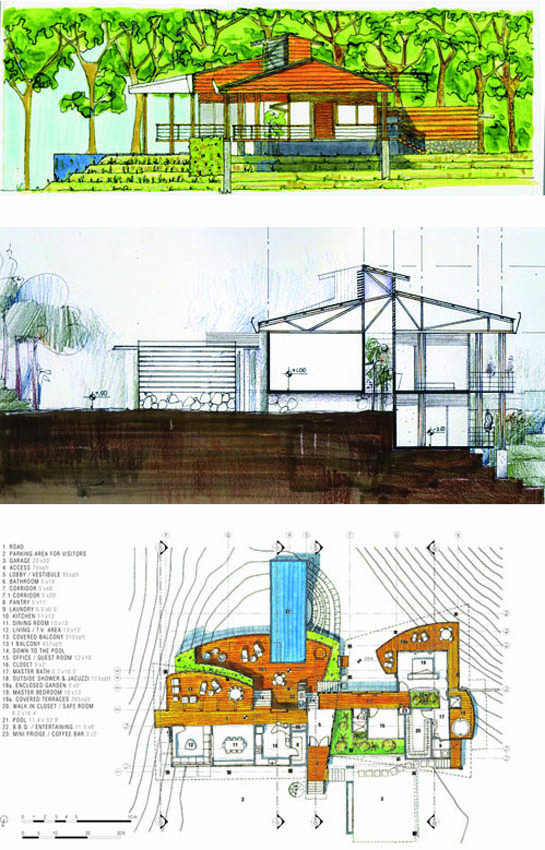 Álvaro Rojas: Arquitectura (segunda parte)