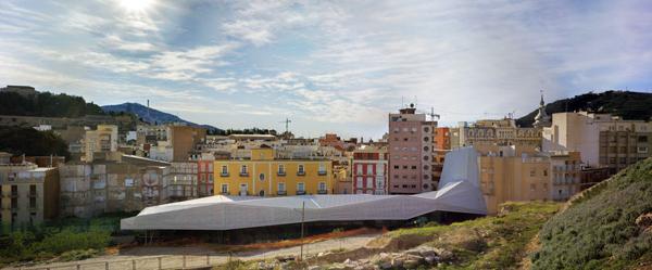 Proyecto de cubierta en el Cerro del Molinete, por Amann, Cánovas y Maruri