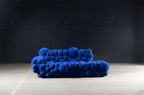 Mutation Series, muebles inspirados en las mutaciones celulares por Maarten De Ceulaer