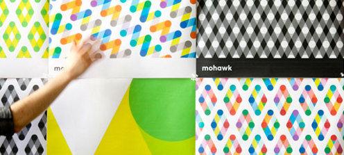 Mohawk, nueva imagen corporativa de Michael Bierut y Pentagram
