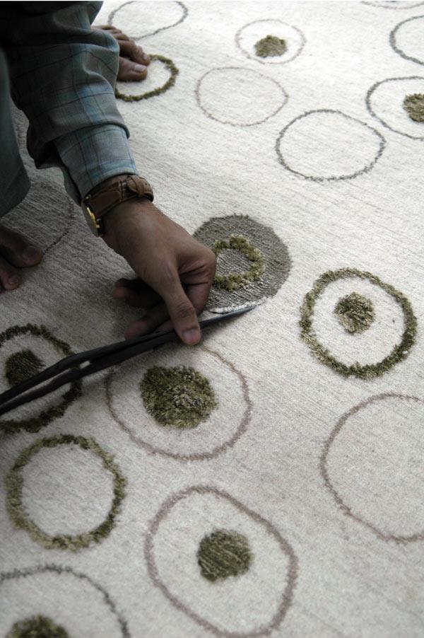 Nepal, nueva colección de alfombras de Francesc Rifé para Now Carpets