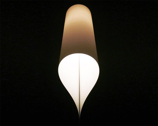 Micol de Cristiano Mino, una lámpara autoproducida con materiales reciclados