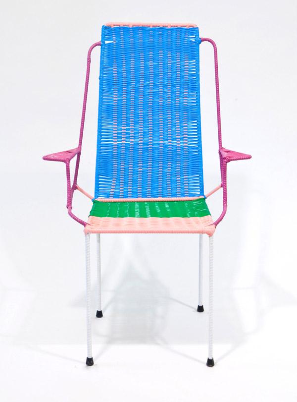 Colección de sillas fabricadas por expresidiarios colombianos para Marni