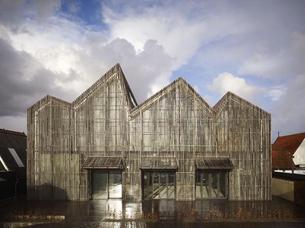 Kaap Skil, museo marítimo de Mecanoo en Texel (Países Bajos)