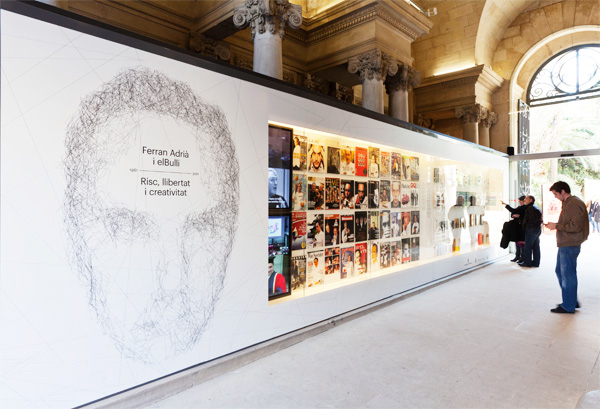 Ferran Adrià & Elbulli, exposición en el Palau Robert, por Olga Subirós y Mario Eskenazi