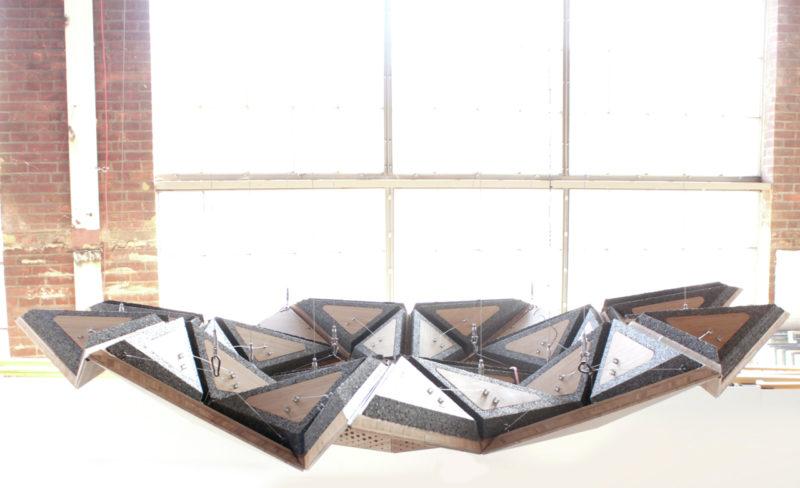Resonant Chamber, paneles acústicos cinéticos de RVTR