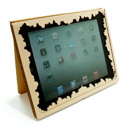 Soporte sostenible para iPad
