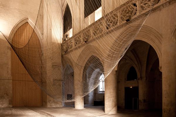 Caten, intervención de David Letellier para la Iglesia de Saint Sauveur en Caen