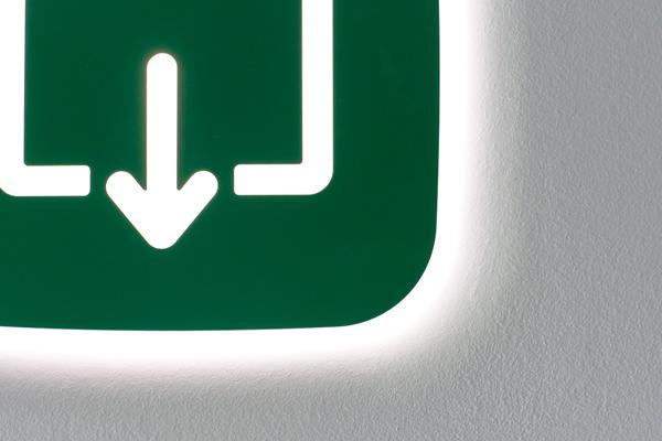 Apps, señalización lumínica de Jorge Herrera para Flos