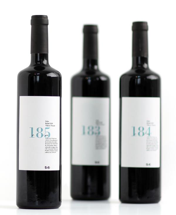 Pelio, etiqueta de vino por Ibán Ramón + Dídac Ballester estudio