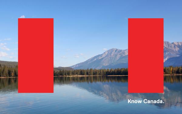 Know Canada, identidad visual de Canadá por Bruce Mau