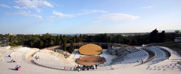 OMA, escenario para el Antiguo Teatro Griego de Siracusa
