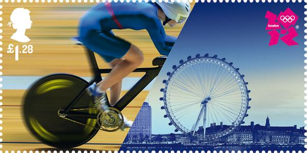 Sellos postales de los Juegos Olímpicos de Londres 2012