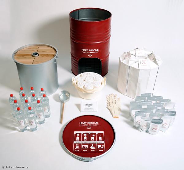 Kit de supervivencia para desastres naturales de Hikaru Imamura