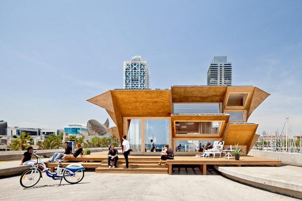 Pabellón Endesa, proyecto del Instituto de Arquitectura Avanzada de Cataluña