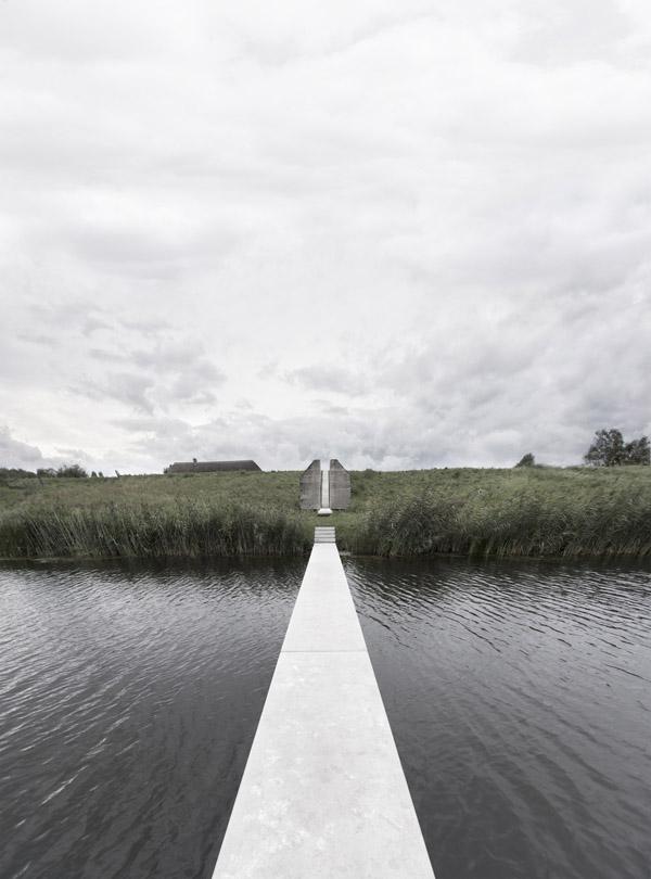 Rietveld Landscape y Atelier de Lyon, intervención en el Bunker 599