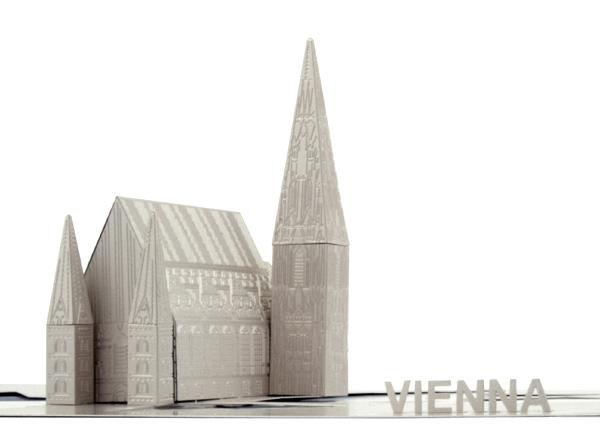 Héctor Serrano participa en el diseño de un souvenir para Viena
