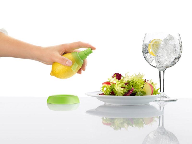 El pulverizador de frutas Citrus Spray, de Alberto Arza y Joan Rojeski para Lékue