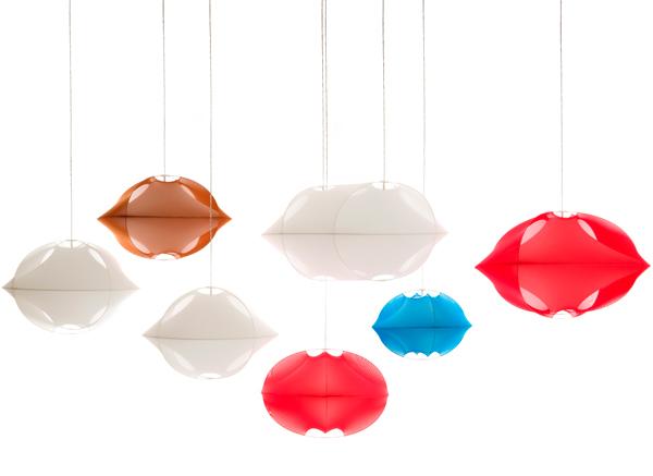 Tenda, la lámpara textil de Benjamin Hubert
