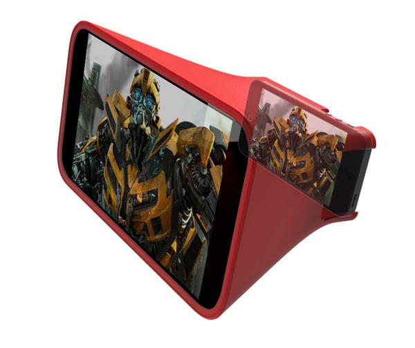 El accesorio que duplica la pantalla del iPhone 5