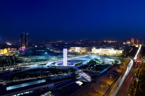 Tower of Ring, el nuevo símbolo que alumbra la ciudad de Tianjin