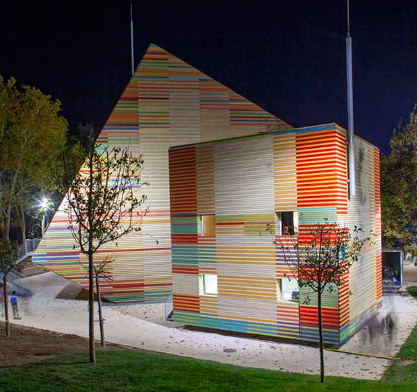 La cultura tras el seísmo, Auditorium del parco dell'Aquila de Renzo Piano