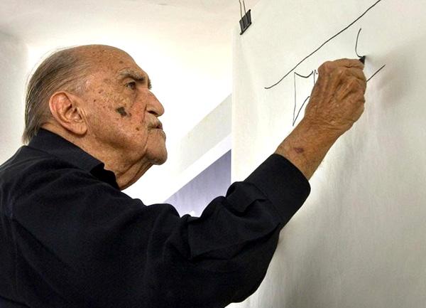 Muere Oscar Niemeyer: la vida es un soplo