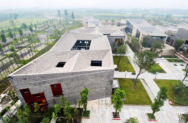 Sky Courts de Höweler+Yoon Architecture en Chengdu, China