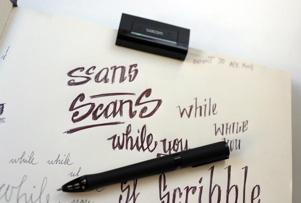 Experimenta te regala un lápiz digital Inkling, de Wacom